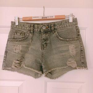 Grey Shorts XS